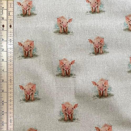 Pigs Cotton Linen