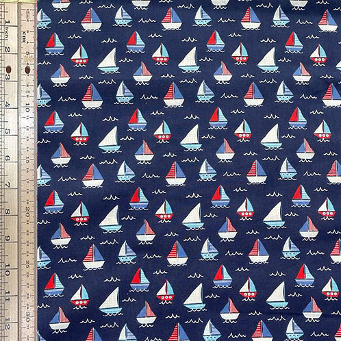 Regatta on Dark Blue