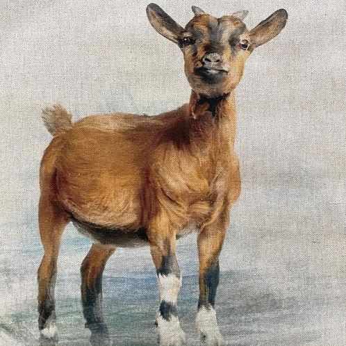 Goat Linen Panel