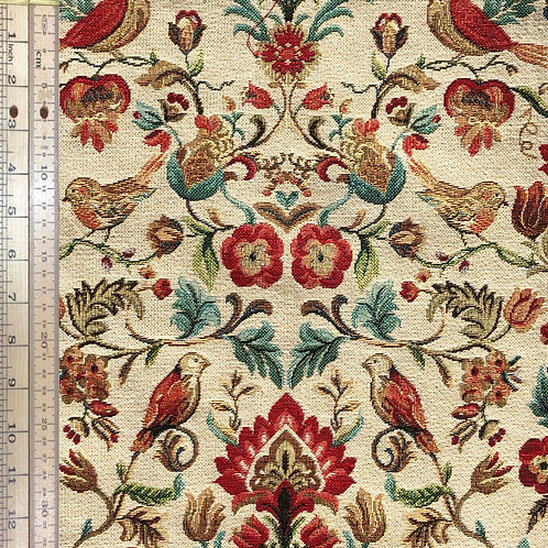 Floral with Birds