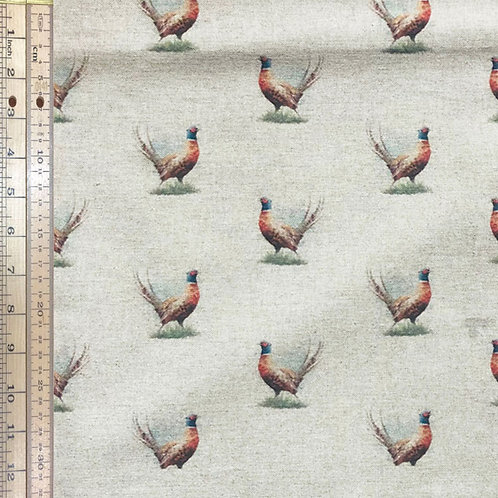 Pheasant Cotton Linen
