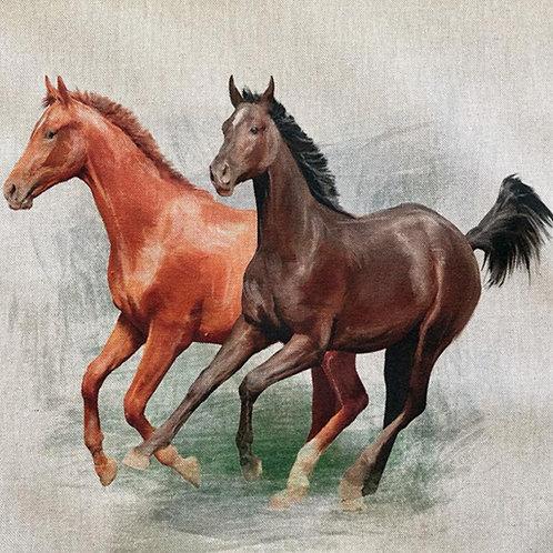 Horse Linen Panel