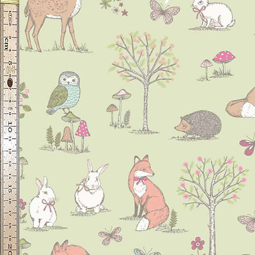 Woodland Animals Lime