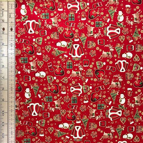 Santa Suits Red