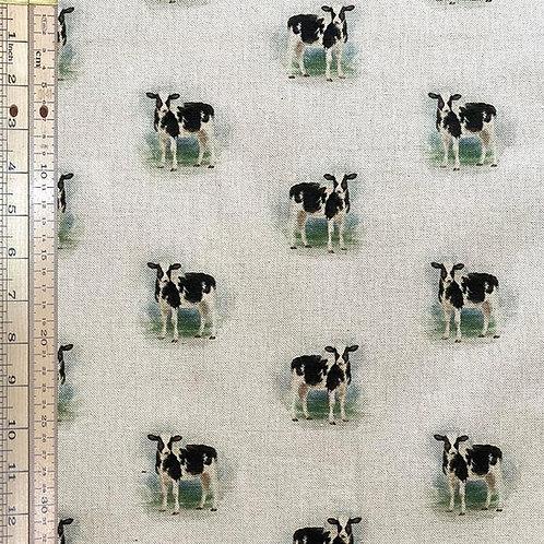 Cow Cotton Linen