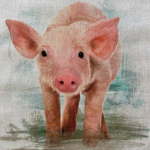 Pigs Linen Panel