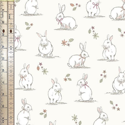 Woodland Bunnies Cream