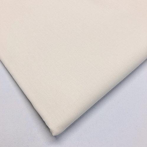 Plain Ivory Cotton
