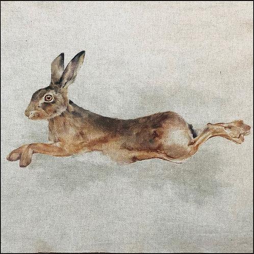Hare Linen Panel