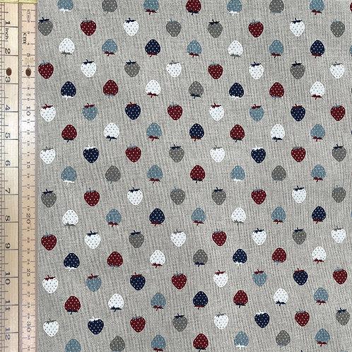 Strawberry Cotton Linen