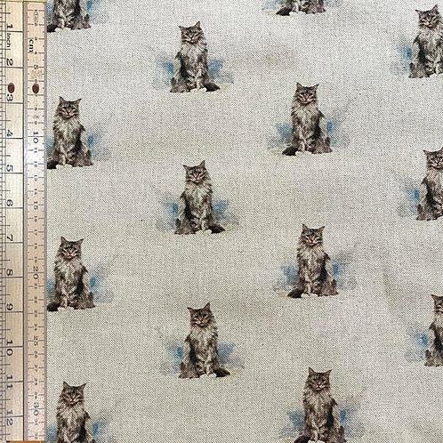 Cats Cotton Linen