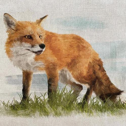 Fox Linen Panel