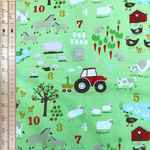 Farm Numbers Green