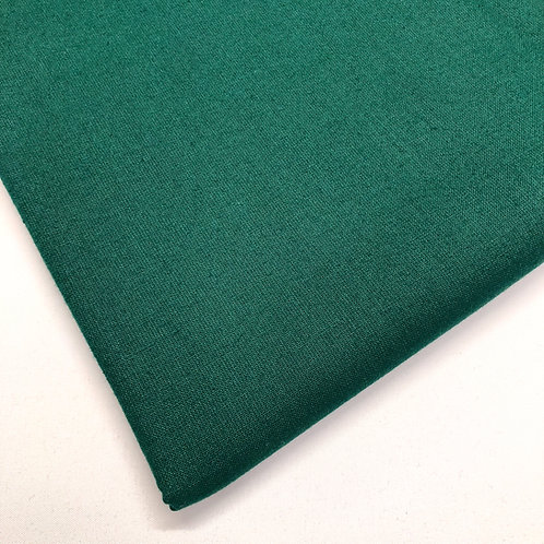 Plain Bottle Green Cotton