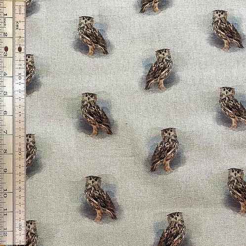 Owls Cotton Linen