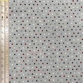 Spots Cotton Linen Canvas