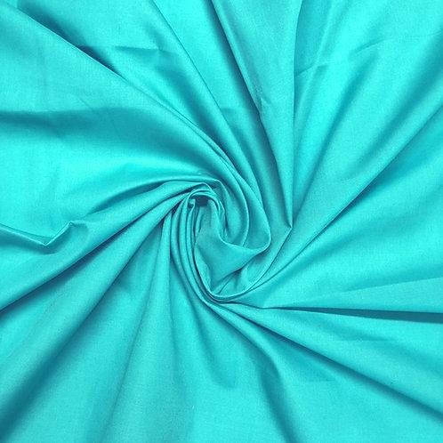 Plain Turquoise Polycotton
