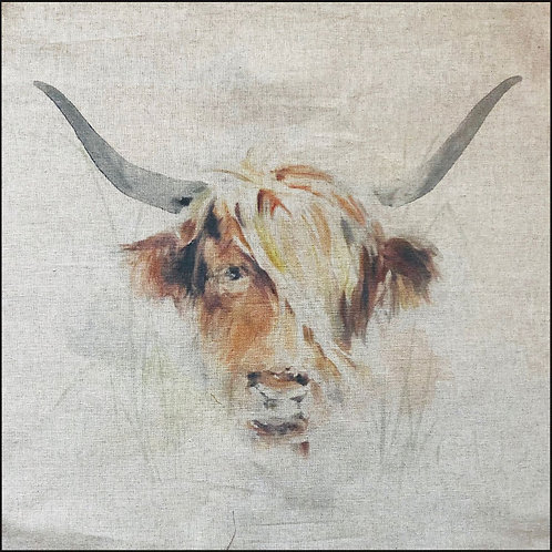 Bull Linen Panel