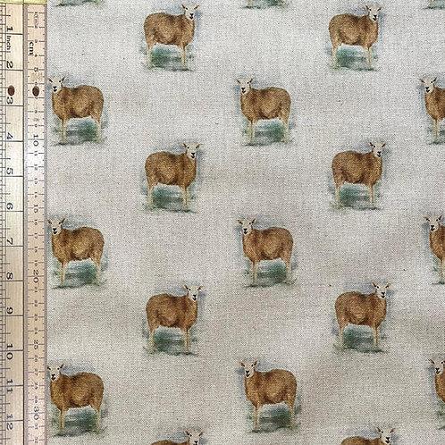 Sheep Cotton Linen
