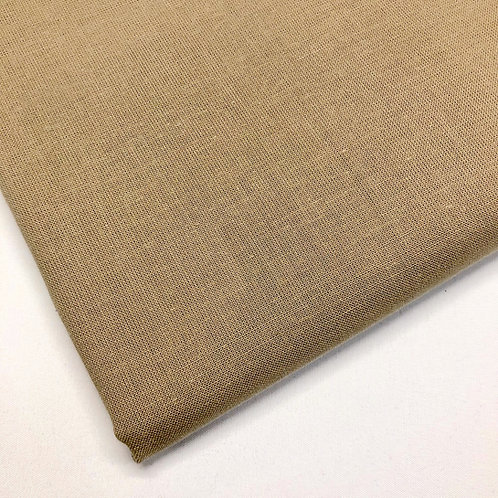 Plain Taupe Cotton