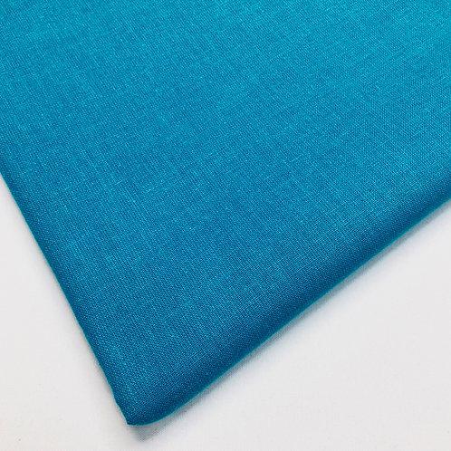 Plain Turquoise Cotton