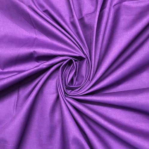 Plain Purple Polycotton