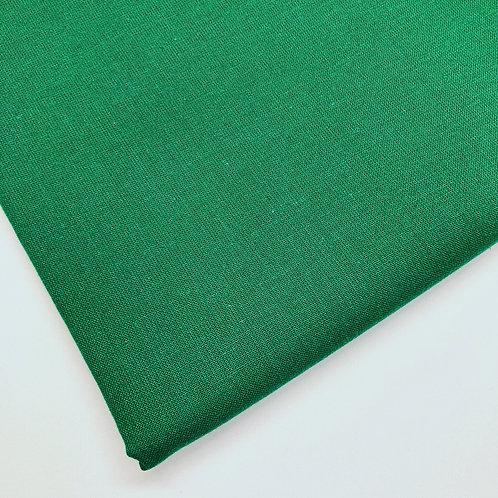 Plain Emerald Green Cotton