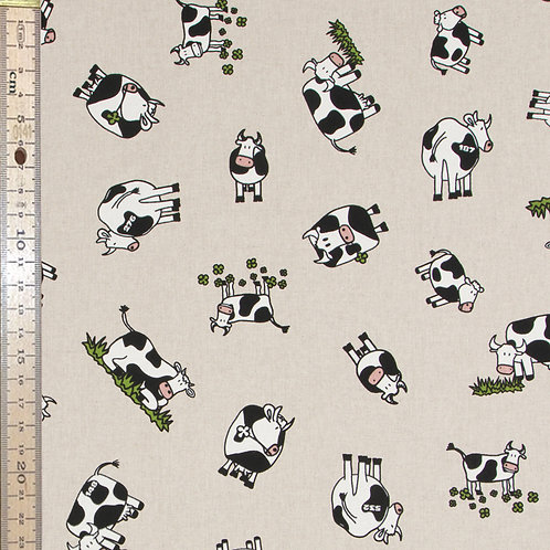 Cows Cotton Linen