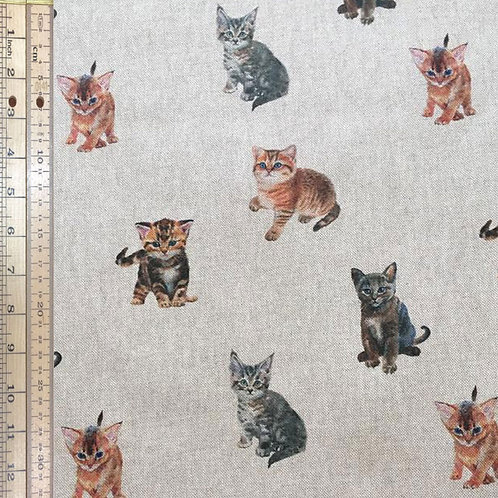 Cats Cotton Linen