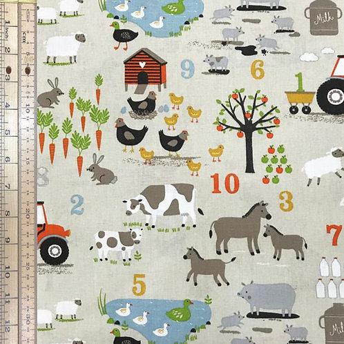 Farm Numbers Grey