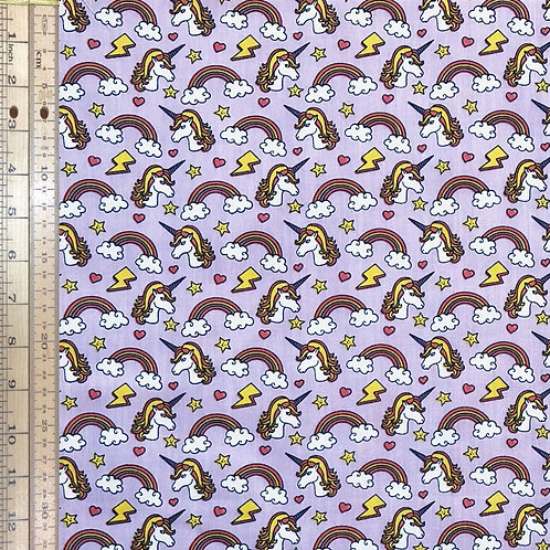 Unicorns on Purple