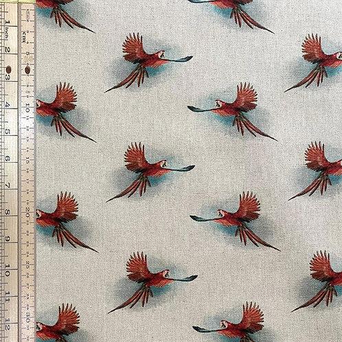 Parrot Cotton Linen