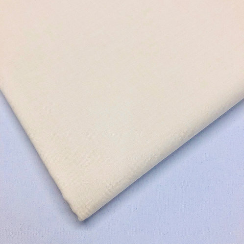 Plain Cream Cotton