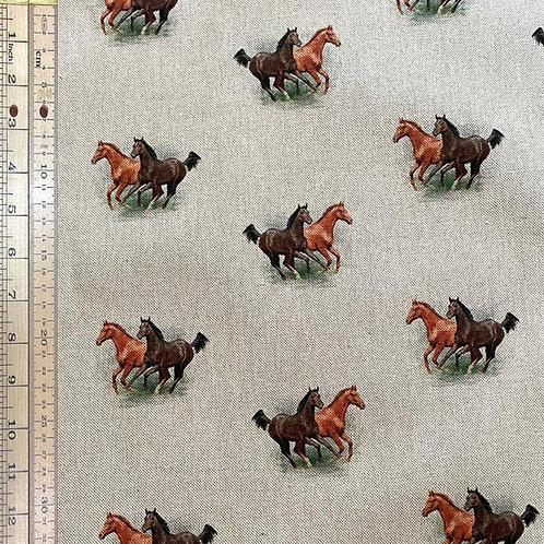 Horse Cotton Linen