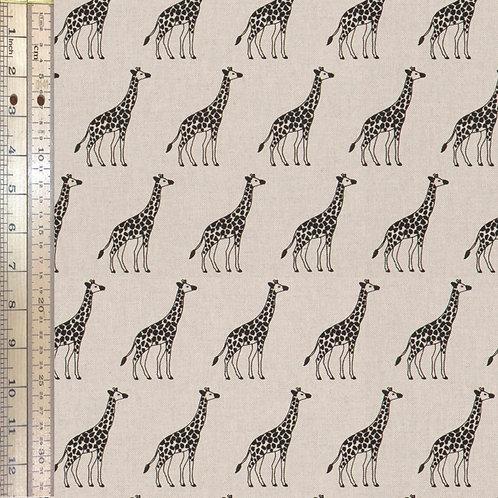 Giraffes Cotton Linen