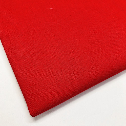 Plain Red Cotton