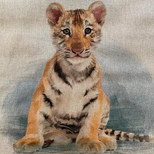 Tiger Linen Panel