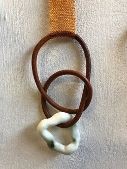 Leather, copper, parian, oxide