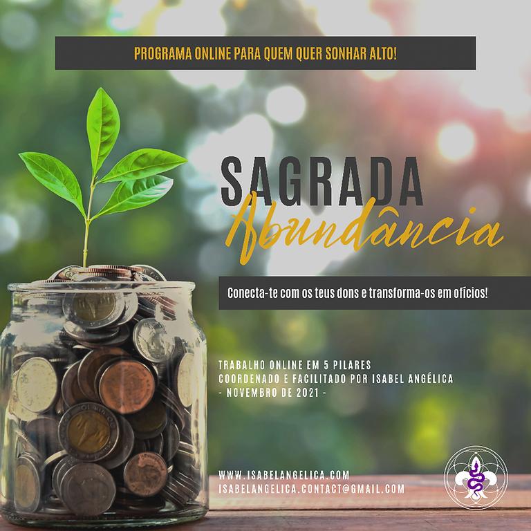 Sagrada Abundância - Programa online em 5 semanas