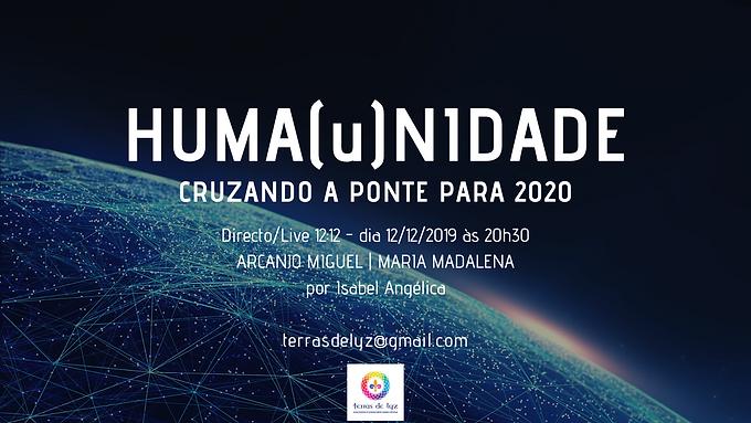 HUMA(u)NIDADE - 2020