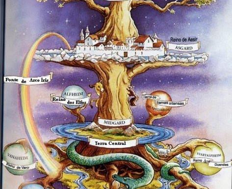 A Árvore e a Deusa por Kabalelan