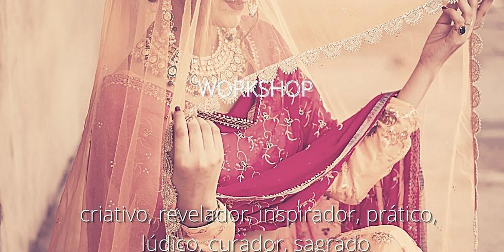 Vestindo a Pele da Alma - Workshop prático pela Sacerdotisa Luiza Frazão