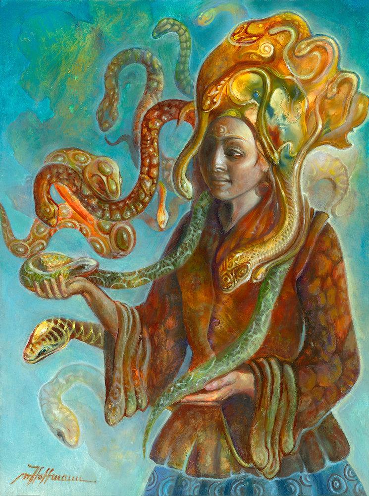 Snake-Charmer by Martina Hoffmann.jpg