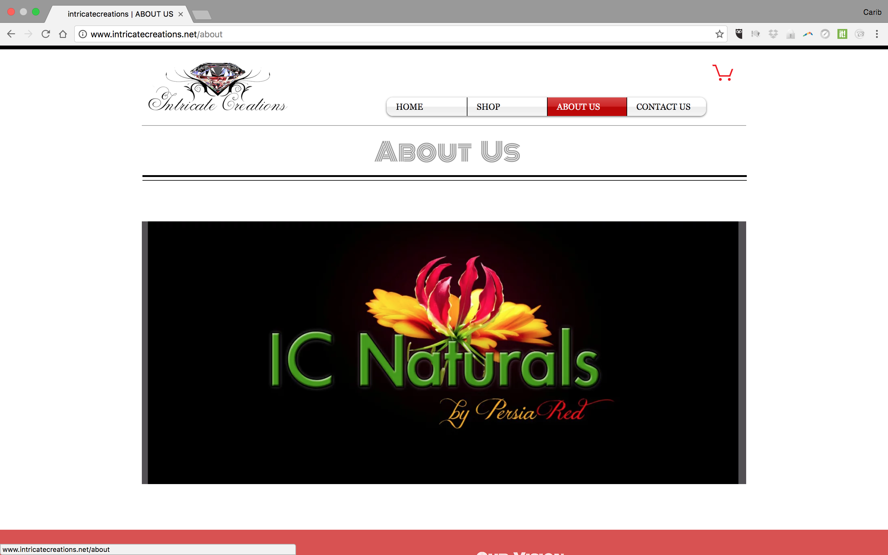 IC Naturals by Persia Red