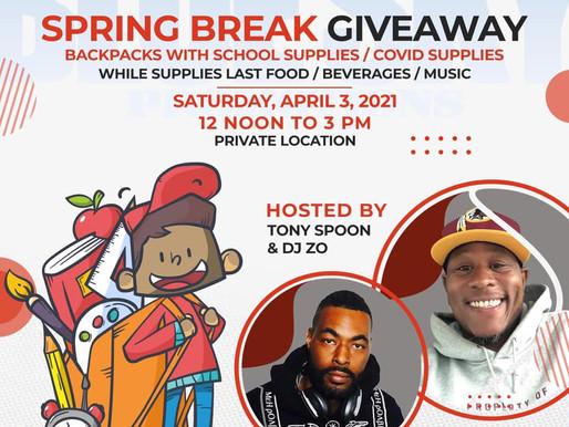 Spring Break Giveaway!!