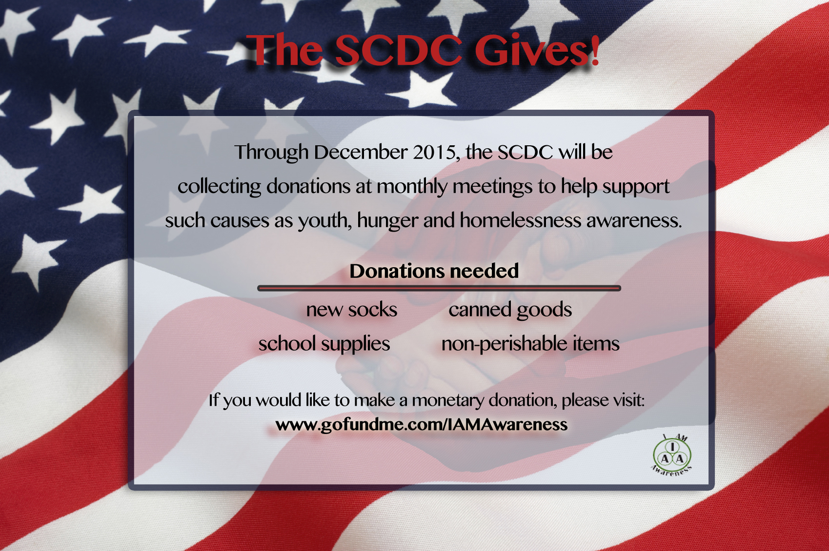SCDC Gives!
