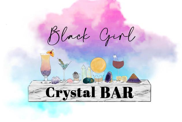 Blck Girl Crystal Bar