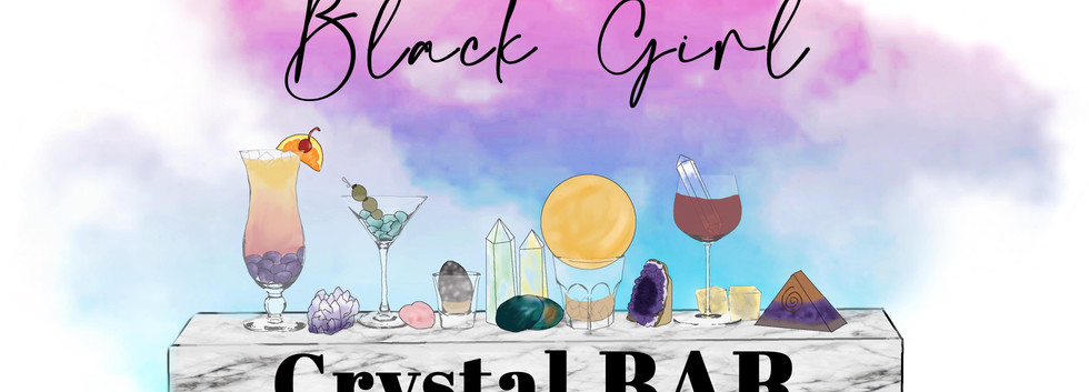 Black Girl Crystal Bar