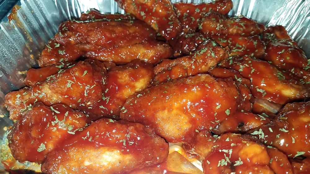 Mr. White's Mambo Sauce Wings