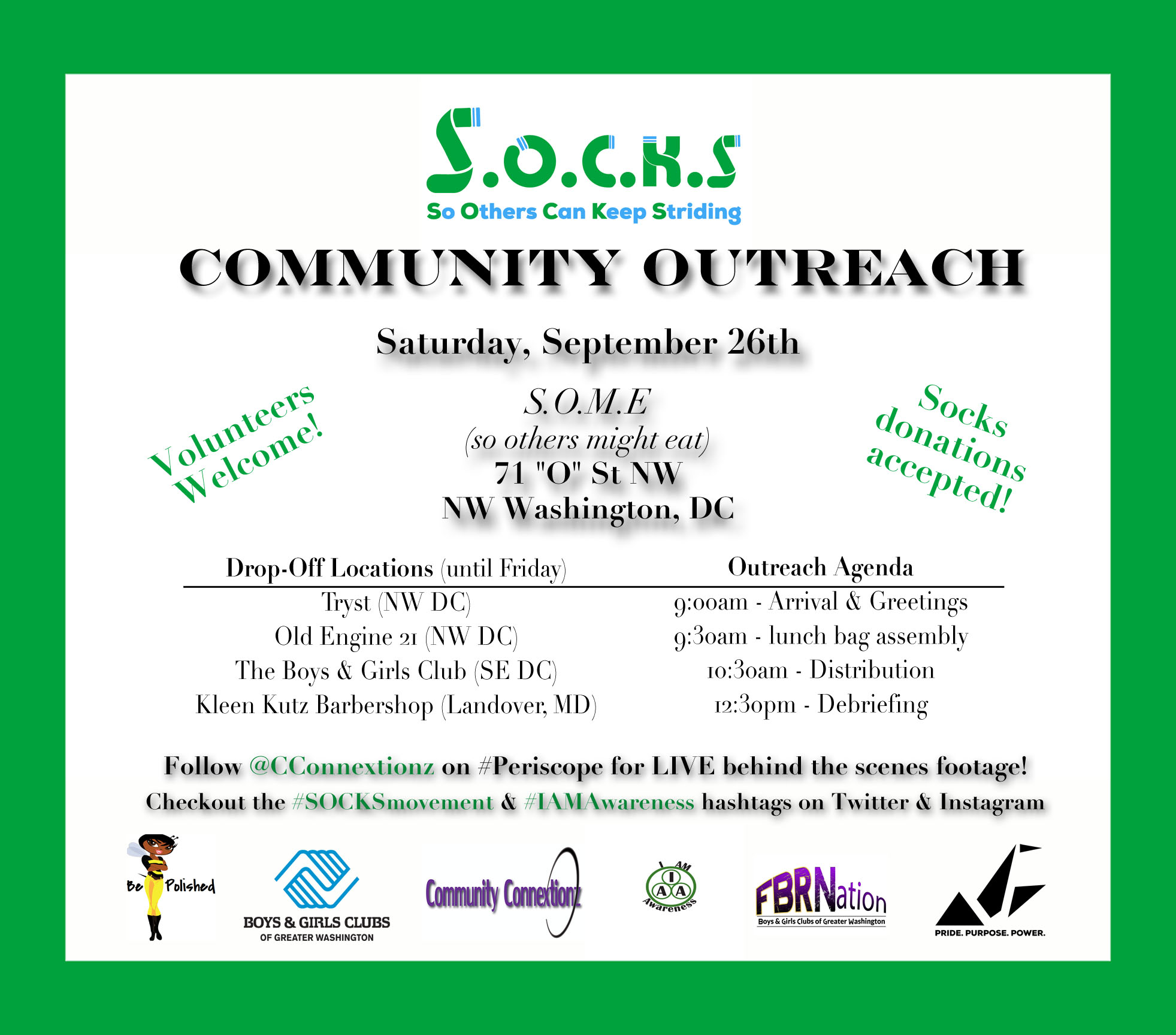 SOCKS Community Outreach